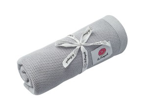 Swaddle - knitted 100% bamboo with silver ions - gray